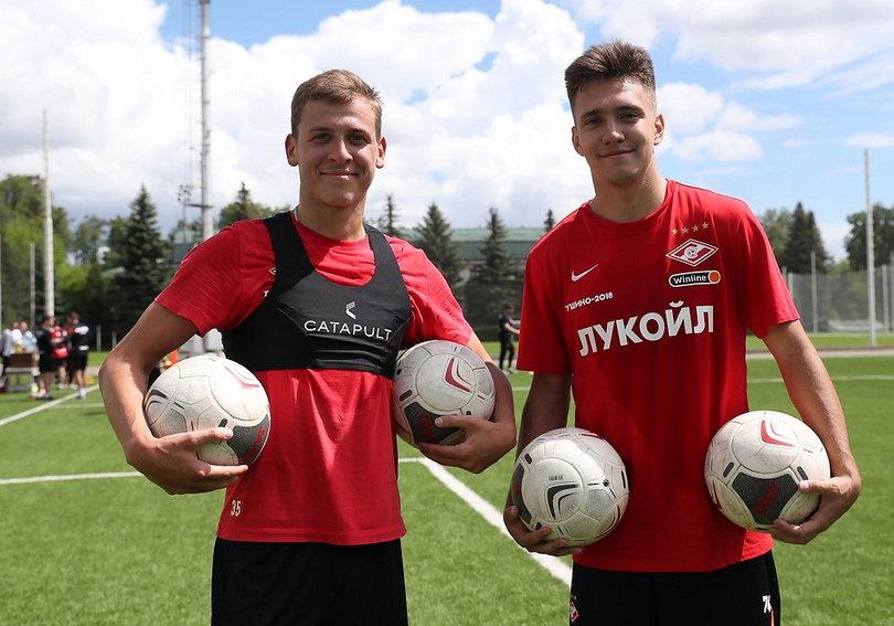 Леонид Миронов и Дмитрий Маркитесов