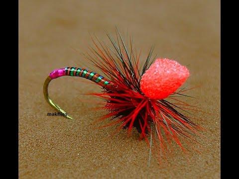 Tying a UV Quill Klinkhammer River Fly by mak