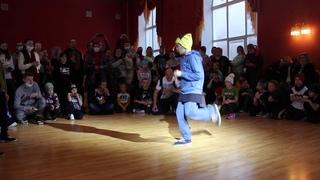 Bboy K-Rock ( Last Element) vs Bboy Дима - Хип Хоп в Массы г. Тверь
