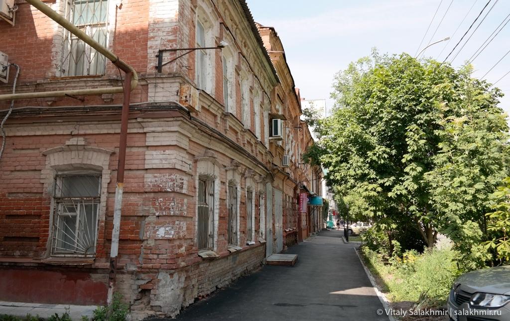 Улица Сакко и Ванцетти, Саратов 2020