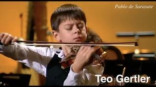 Pablo de Sarasate Gypsy Tunes 1878 violin Teo Gertler The Opening of The Nutcracker 2019
