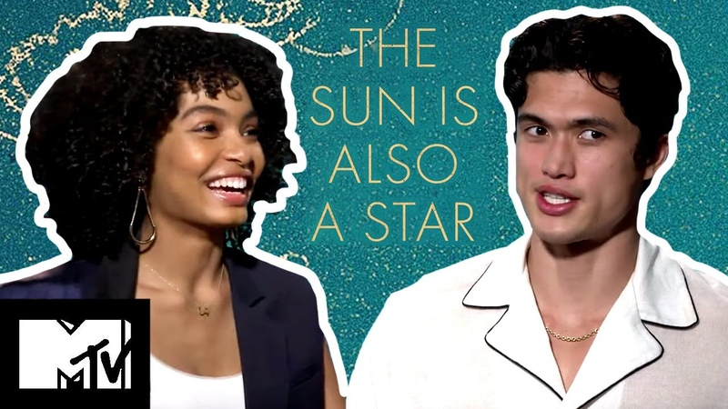 The Sun Is Also A Star Cast Challenge Each Other In A Game Of Charades