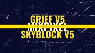 ❤ Обзор проекта MixPixel - Лучший Grief V5, SkyBlock V5, самые Крутые мини-игры и самописные плагины