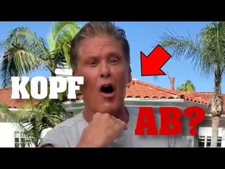 UNGEHEUERLICH! Impfkampagne - David Hasselhoff mit TODES-GESTE?