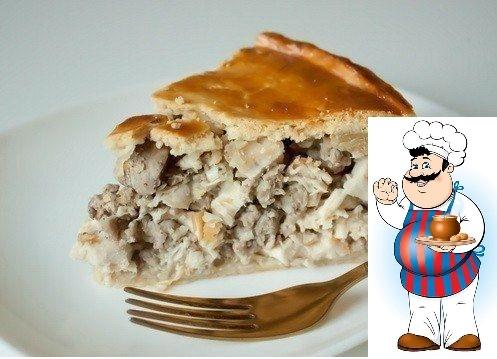 ПИРОГИ С КУРИЦЕЙ - САМЫЕ ВКУСНЫЕ И ПРОСТЫЕ..., А КАКИЕ ВКУСНЫЕ... Чтобы ваш пирог с курицей не получился сухим, сочетайте мясо в начинке с такими продуктами как сметана, майонез, куриный бульон,