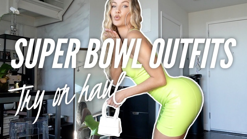 Super Bowl Outfits Try On Haul Casi Davis
