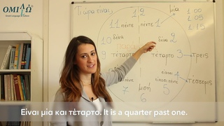 Learn how to say the time in Greek | Omilo