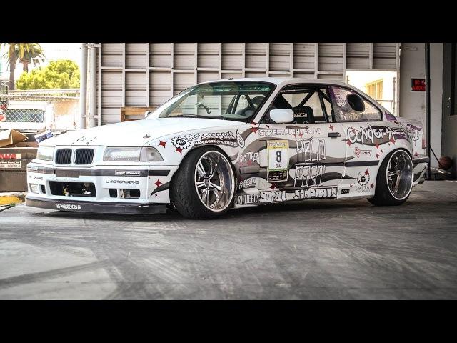 HOONIGAN DT 106 Widebody BMW E36 Double Dutch Donuts Sh*tcar