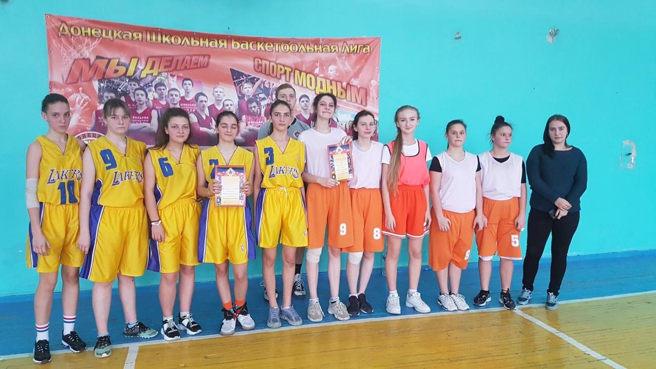 В Кировском районе прошли районные соревнования по баскетболу среди девушек