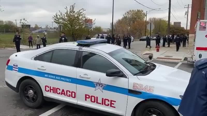 Полиция Чикаго в действии