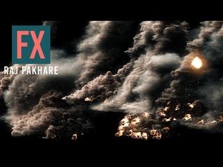 Meteor Strike Tutorial in 3Ds Max | Fume FX Rain | Fume FX 5.0 | Raj Pakhare