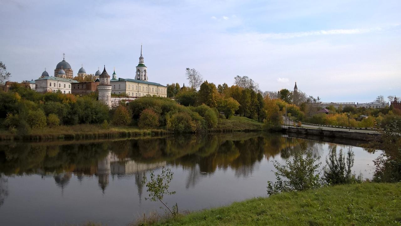 Николаевский Мужской Монастырь и Верхотурский кремль