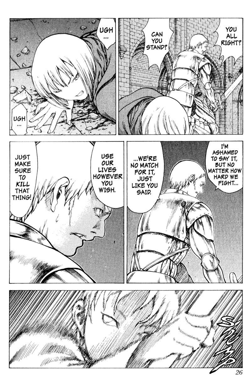Claymore, Chapter 10, image #25