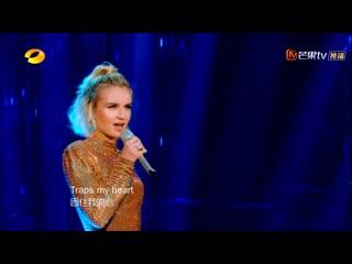 Полина гагарина (波琳娜) forbidden love [show singer ep10 2019]