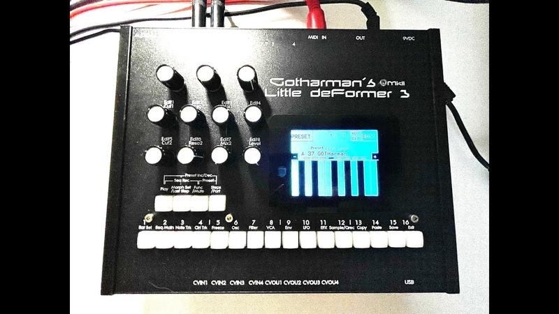 Blush Response RARE GEAR GOTHarman's Little Deformer 3 Sound Design Exploration