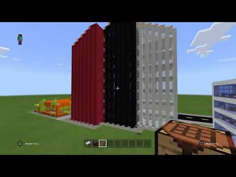 Строим больничку в Майнкрафте 6