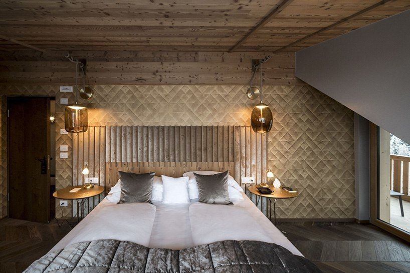 located in the heart of the italian dolomites, the illustrious 'rosa alpina'hotel and spahas added a new penthouse suite to its repertoire, truly topping out its luxurious offerings.