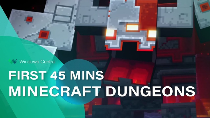 Minecraft Dungeons Beta Gameplay The first 45 minutes