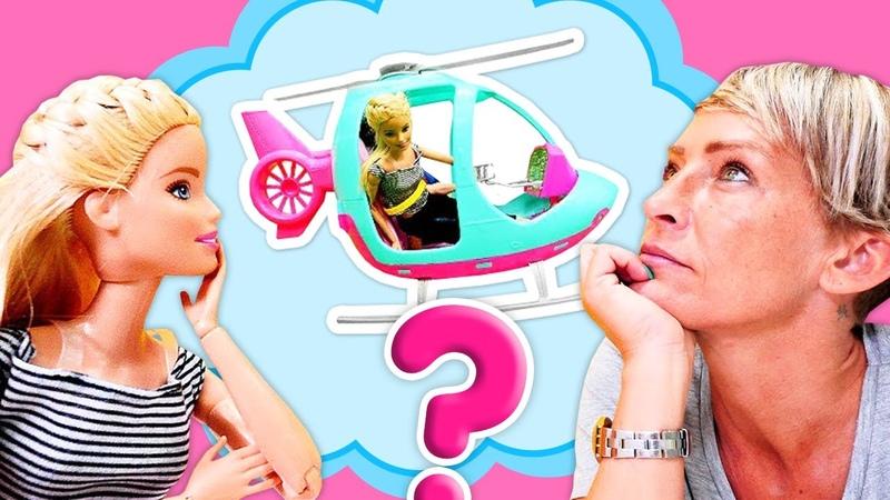 Barbie ile kız videoları. Barbie hangi hediye seçecek! Barbie ve Nicole ile eğlenceli oyunlar