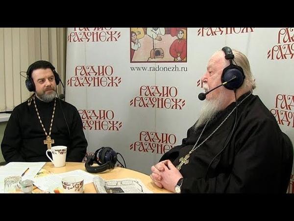 Радио Радонеж Протоиерей Димитрий Смирнов Видеозапись прямого эфира от 2019 02 23