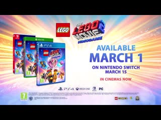 The lego movie 2 videogame launch trailer