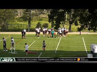 New York Jets Training Camp LIVE (8-25)