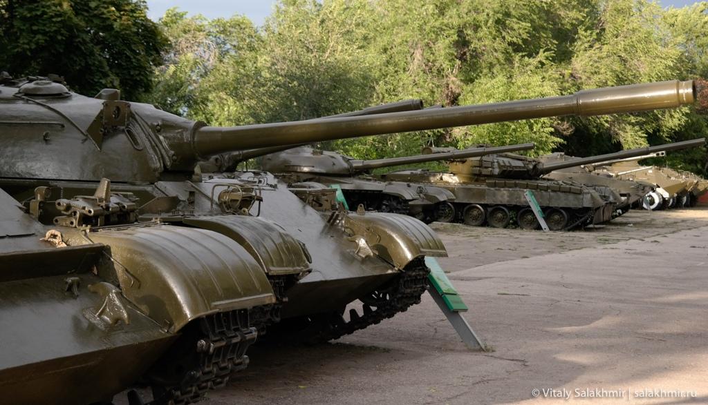 Танки в Парке Победы, Саратов 2020
