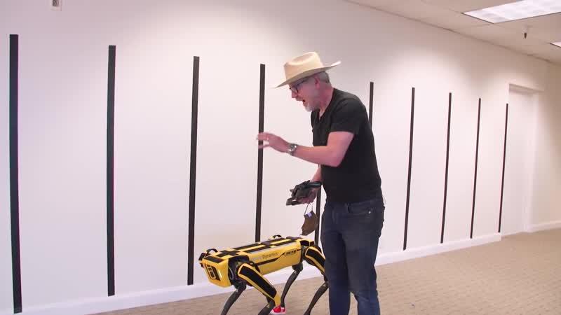 Adam Savage Modifies Boston Dynamics Spots Robot Form