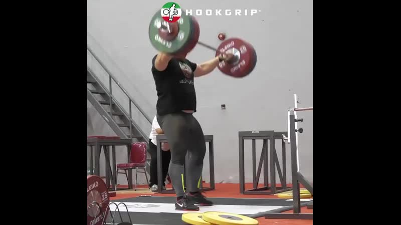 Сайед Алихоссейни рвет 210 кг