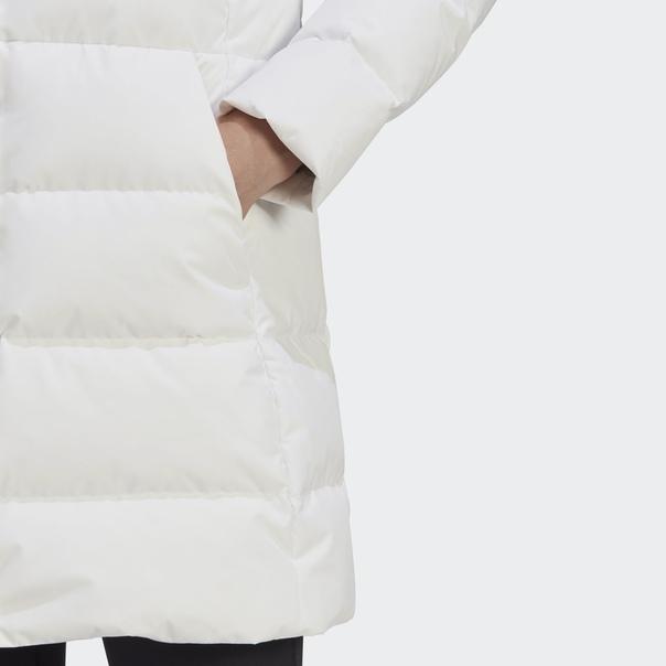 Длинная куртка-пуховик image 8