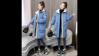 Женская хлопковая стеганая куртка 2020 зимняя куртка для женщин средней длины длина пуховик хлопковая стеганая куртка плотная