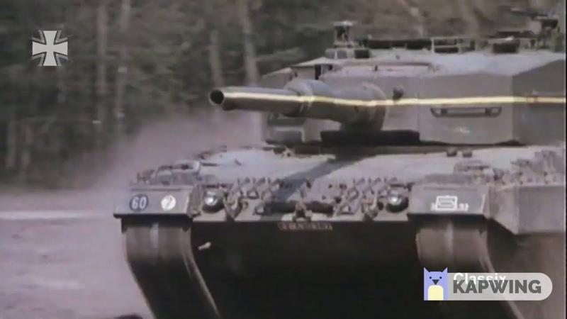 Немецкий танк везет настволе кружку пива непроливая ни капли