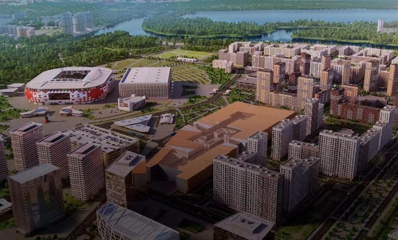 Рядом со стадионом «Спартака» построят больше спортивных объектов