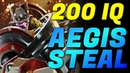 One of the MOST EPIC Aegis Steal in Pro Scene Dota 2