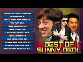 Best Of Sunny Deol _ Blockbuster Bollywood Songs _ Evergreen Hindi Songs Collection