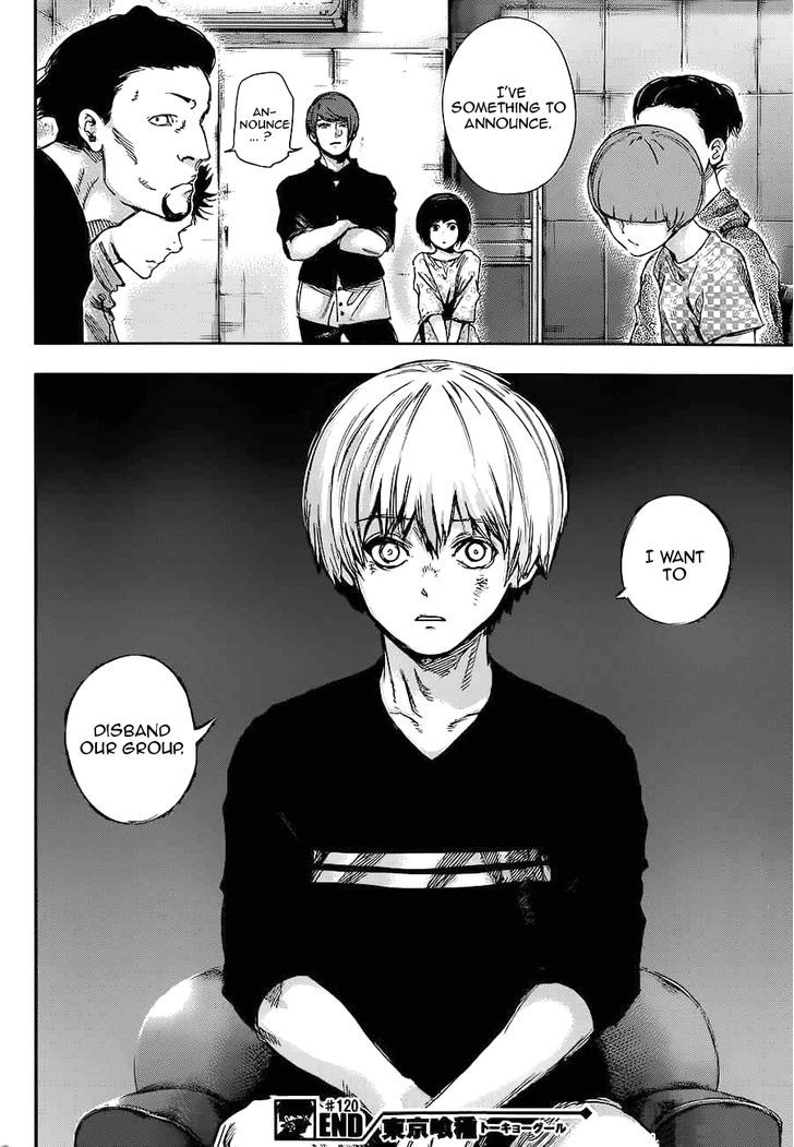 Tokyo Ghoul, Vol.12 Chapter 120 Touka, image #17