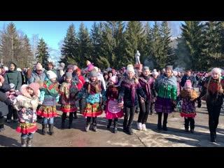 Пусть Масленица дарит вам добро, весеннее чудесное тепло! Петра Дубрава 2020