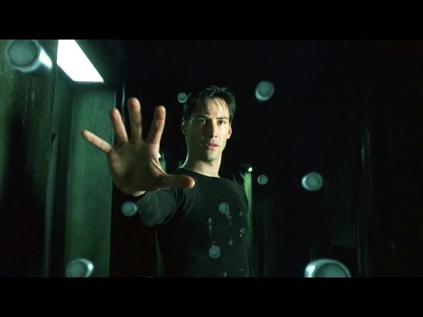 Neo 'The One' The Matrix Open Matte