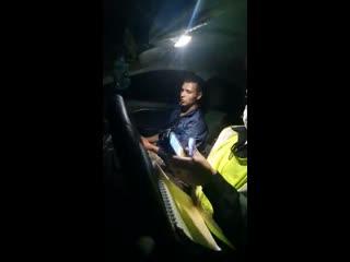 сотрудники ГИБДД устроили погоню за пьяным 18-летним водителем без прав