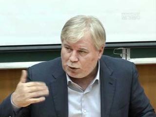 Анатолий Кучерена в МГИМО