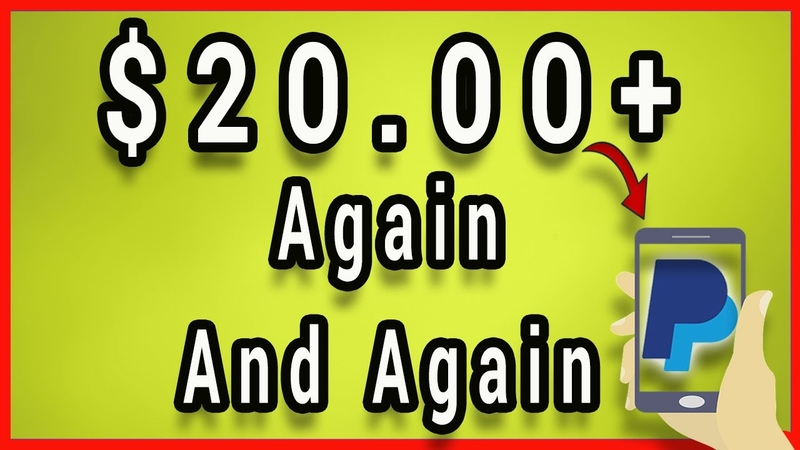 Make $20.00 Again And Again From Your Smartphone (Paypal Money)