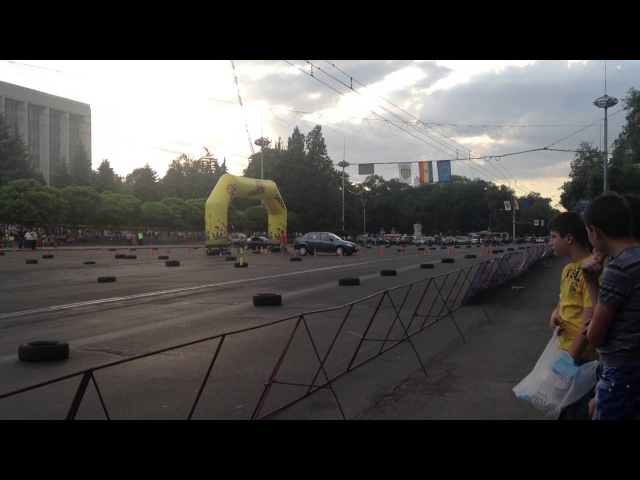 Dacia Logan - Autoslalom - PMAN - 19.05.2013