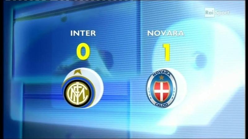2011 12 23a 12 02 2012 INTER Novara 0 1 Caracciolo Servizio 90°Minuto Rai2
