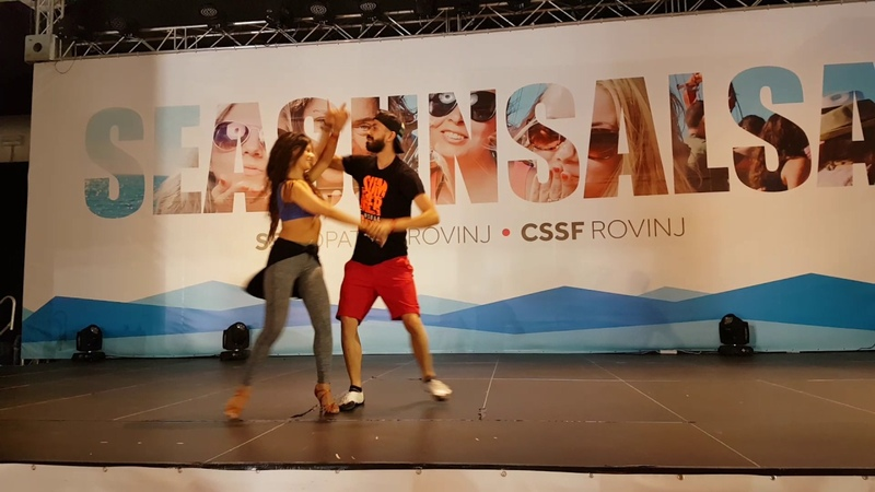 Panagiotis Myrto Salsa on2 Intermediate PW @ CSSF 2017