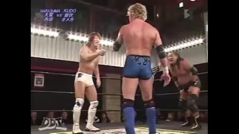Kenny Omega Kota Ibushi KUDO vs HARASHIMA Shoichi Uchida Touru Owashi