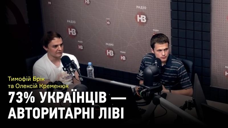 Праві які насправді авторитарні ліві 73% українців схильні до лівої ідеології