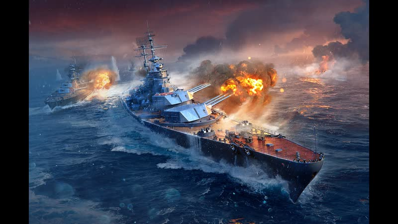 World of Warships Олдфаг решил вернуться в игру