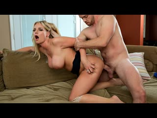 Rachael cavalli taking care of mom (milf, big tits, blonde, blowjob, cum in mouth, deep throat, facial, massage)