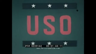 """"""" THE BIG PICTURE -- USO WHEREVER THEY GO! """" STARS IN WWII, KOREA, VIETNAM WAR XD39144"""