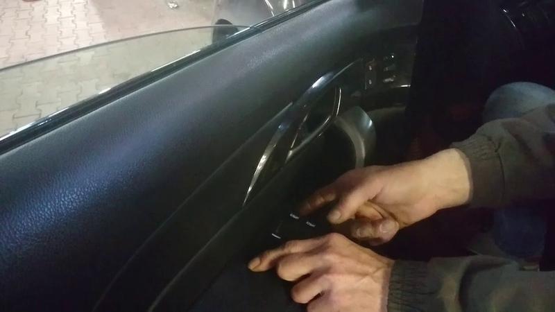 Обучение стеклоподъёмников Honda и Acura